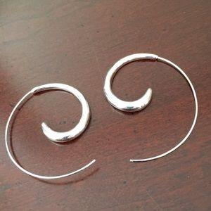 Cute spiral earrings